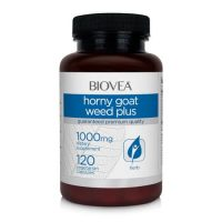 BioVea Horny Goat Weed Plus (with MACA) 120 капс.