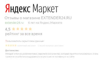 Рейтинг в Яндекс Маркете