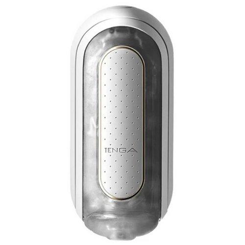 Мастурбатор TENGA Flip Zero с вибрацией белый