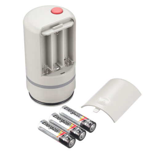 3 батарейки в головке